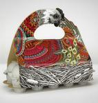 Matte CMYK Egg Basket Paperboard Gift Packaging Box