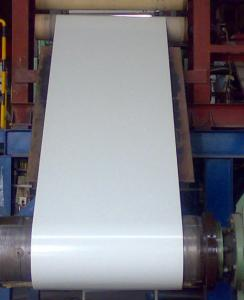China Normal Coated Color Coated Steel Coil TDC51D + AZ 508 - 610mm ID , 0.3 - 0.7mm TK on sale