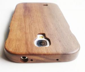 China Hand Made Samsung Galaxy S4 Wooden Case,Black Walnut Wood Case for S4/i9500 on sale