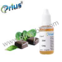 Prius chocolate mint e liquid with tea polyphenols