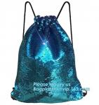 Premium Mesh Beach Bag Drawstring Beach Bag Net String Backpack,Shine Magic School Backpack For Teenage Girl bagplastics
