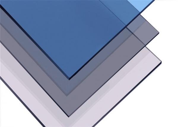 Energy Saving Colored Solid Polycarbonate Sheets Tinted Roofing ...