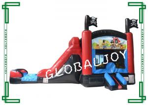 China Printed Water Proof Inflatable Combo Jumper Bounce House Obstacle Course on sale