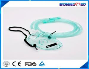 China BM-5401 High Quality Best Price Medical PVC Transparent Nasal Oxygen Mask with 200cm Tube Nasal Oxygen Mask with Valve on sale