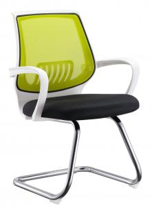 China Ergonomically Designed Office Training Chairs With Arms / Chrome R350 Foot on sale