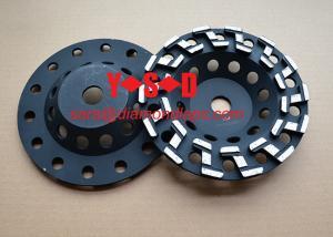 China 7 Z Segment Diamond Cup Wheel for Concrete Diamond Grinding Tools on sale