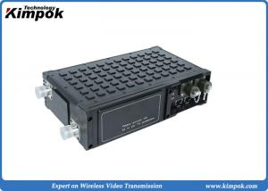 Tactical Dual Ethernet Radio Robust FDD COFDM Network