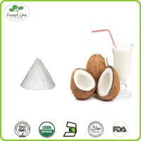 Whosale bulk low fat organic desiccated coconut milk powder