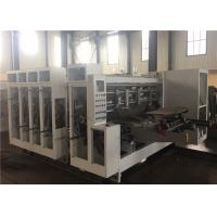 Corrugated Carton Flexo Printing And Die Cutting Machine Manual Operation
