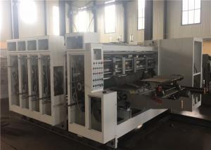 China Corrugated Carton Flexo Printing And Die Cutting Machine on sale