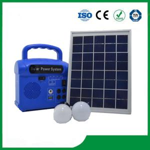 China Portable solar home lighting kits, solar panels kits for home on sale