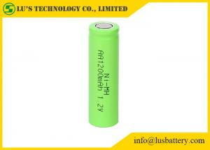 China 1.2V rechargeable batteries 1200mah size AA ni-mh battery 1.2V 1200mah type AA rechargeable cells supplier