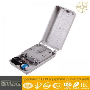 China Durable Outdoor Fiber Termination Box / Termination Enclosure With 1 SC Adaptor on sale