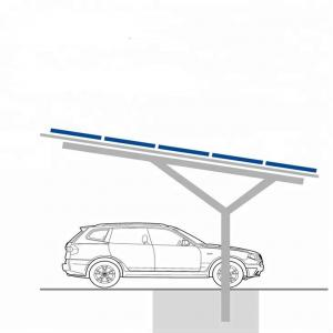 China Car Shed PV Carport Solar Systems Renewable Energy Thickness 0.5mm-15mm Span 5000mm on sale