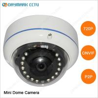 China IR Night Vision HD Outdoor Dome IP Camera 1280*720 on sale