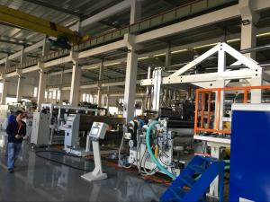China Multiple Layer CPP / CPE Co-extrusion Casting Film Machine on sale