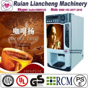 China electric coffee grinding machine Bimetallicraw material 3/1 microcomputer Automatic Drip coin operated instant on sale