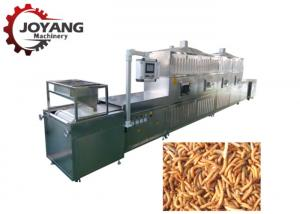 China Black Soldier Fly Larvae Microwave Dehydrator Mealworm Insects Drying Machine on sale