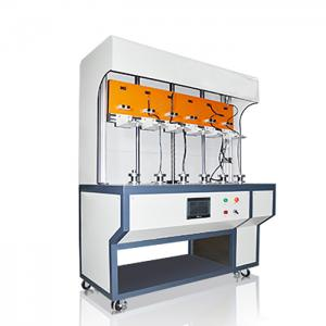 China TUV VDE Horizontal Flammability Tester UL ZY6030C Robot Cable Vertical Torsion on sale