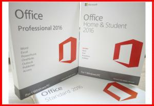China 100% Original Microsoft Office 2016 Professional Retail Plus Windows Product Key Sticker Label on sale