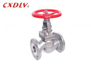 China High Pressure Full Bore Stainless Steel Globe Valve Good Sealing SUS304 Disc on sale