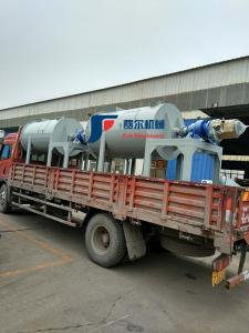 China 304 Steel Horizontal Ribbon Mixer / Dry Powder Mixing Equipment Low Noise on sale