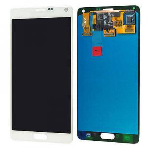 China White Mobile Phone LCD Display / Samsung Note 4 LCD Digitizer on sale