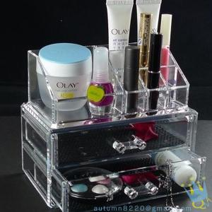 China clear acrylic storage containers on sale