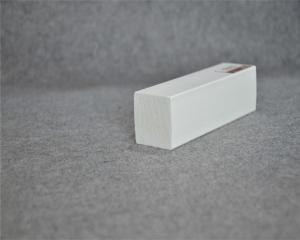 Woodgrain PVC Trim Board / Trim Plank White Vinyl Board 5/4 x 4 for