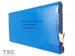 China LiFePO4 Battery Pack 26650  12v 18ah  For Solar Street Lighting on sale