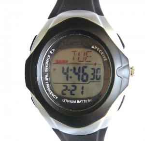 China 3 ATM Waterproof Multifunctional Digital Watch , Solar Radio Control Watch on sale