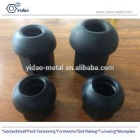 China M15-50mm anchor nut , full hex nut, spherical hex nut, dome nut used for full thread bar/post tensioning bar on sale