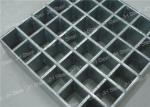 SS304 Swaged Pressure Locked Plug Structure Steel Bar Grating / Stainless Steel Grill Grates