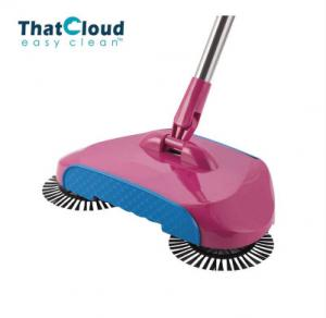 China 360 Floor Hand Propelled Sweeper Eco - Friendly Integrate Floor Dust Sweeper on sale