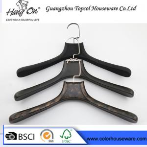 China Black ABS Plastic Modern Clothes Hangers / Coat Hangers For Skirts on sale