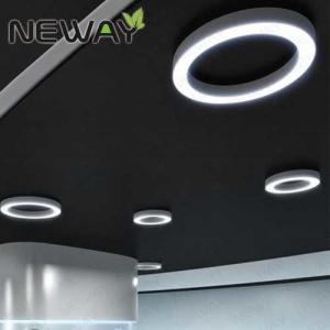 China Modern circle surface mounted modern Led Ceiling Lights Modern led suspended ceiling light for hotel on sale