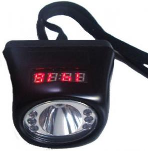 China Electric Cordless LED Mining Cap Lamp Explosion Proof Li - Ion Battery 4500mAh / 3.7V on sale