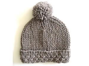China Custom OEM Hand Knit Hats Handmade Baby Beanies Crochet Caps and Photo Props for Newborns Boys & Girls Modern Natural on sale