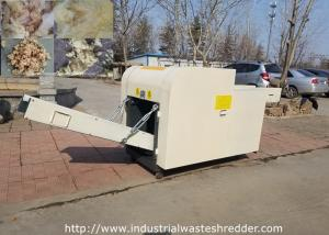 China Glass Wool Felt Cutting Machine Rock Wool Rebonded Foam Shredder With Loosen on sale