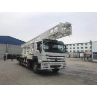 China Electric Generator Truck Mounted Drilling Rig With SINOTRUK HOWO Chassis And 500mm Diameter BZC400ZY on sale
