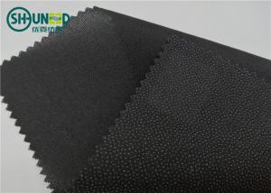 China Eco Friendly Drill Fusing Woven Interlining Broken Twill Weave For Garment on sale