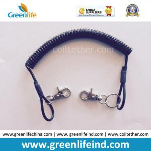 China Plastic Bungee Cord Black Tether for Tools Stop-Dropping on sale