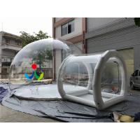 6X8M PVC Bubble Inflatable Tent Transparent Camping Tent Inflatable clear bubble tent
