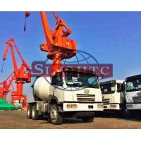 10 Cubic Concrete Agitator Truck, RHD Steering Self Mixing Concrete Truck