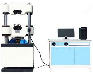 China Mechanical ASTM Hydraulic Tensile Testing Machine  600kn Universal Testing Machine on sale