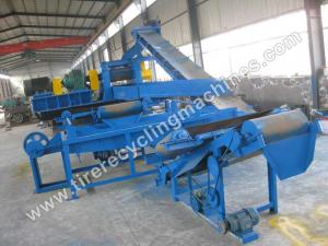 Quality Large Scale Tire Recycling Line for sale