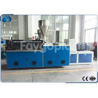 Twin Screw Plastic Extruder Machine Extrusion Line For Plastic Tube / PVC Pipe