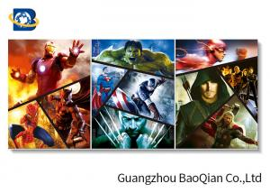 China Spider-Man Movie Star 3d Poster For Decorative Picture , Creative Pet Dog 3d Photo on sale