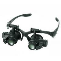 10X 15X 20X 25X LED Double Eye Jeweler Watch Repair Magnifier