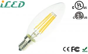 China Decorative Chandelier Led Filament Bulbs Dimmable Led Candle Bulbs High Luminous on sale